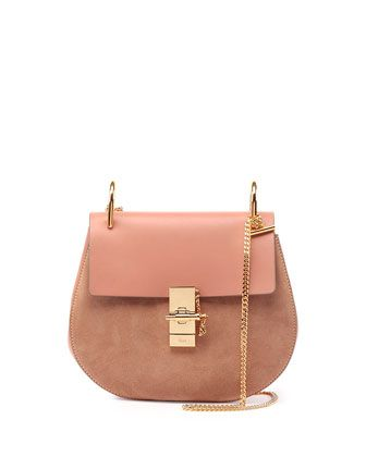 chloe red purse - Drew Leather & Suede Shoulder Bag, Rose (Pink) - Chloe | By Chloe ...