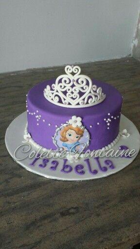 cake princess sofia cake gateau pinterest princesses princess sofia and cakes. Black Bedroom Furniture Sets. Home Design Ideas