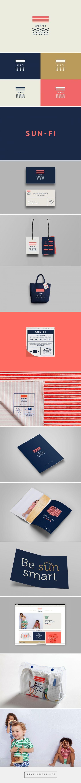 Sun-Fi Branding by Bunker3022 on Behance   Fivestar Branding – Design and…