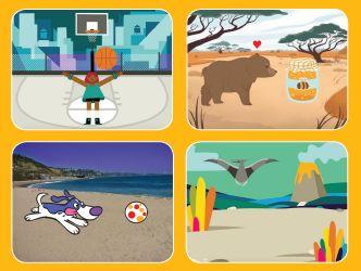 Tutorials Scratch: Animar personatges