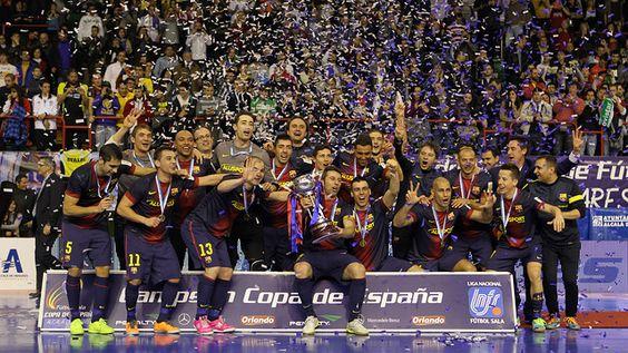 El Barça Alusport, campeón de la Copa de España 2013 / FOTO: MIGUEL RUIZ - FCB
