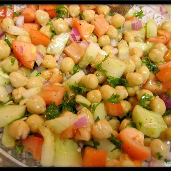 Breakfast Ideas Daniel Fast: Garbanzo Bean Salads, Bean Salads And Bean Salad Recipes