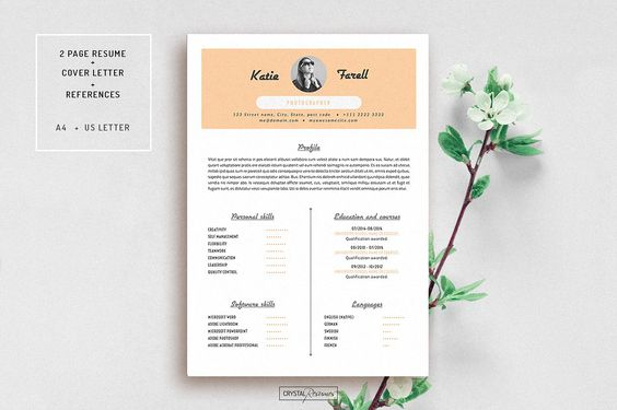 Resume Template for MS Word Resume, For m and Templates - office 2010 resume templates