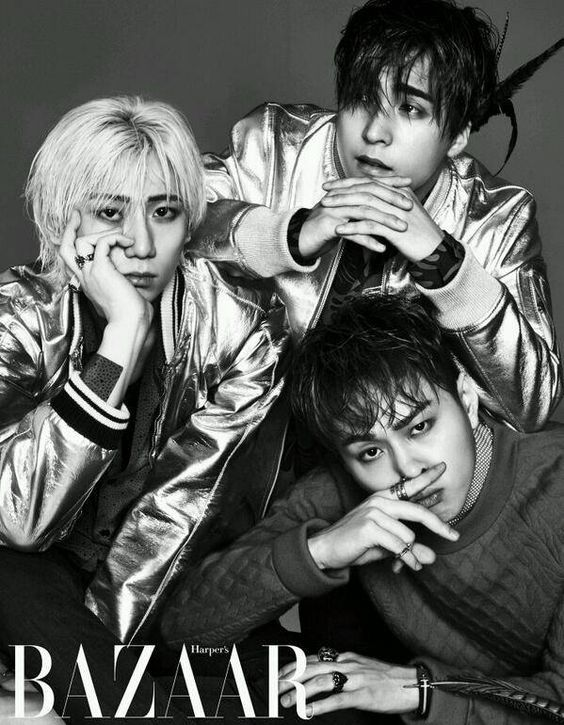 B2ST take part in a black-and-white pictorial for 'Harper's Bazaar' | allkpop