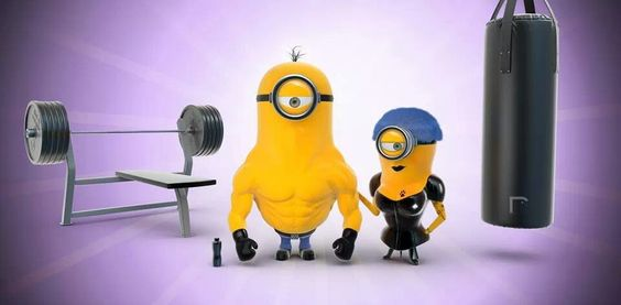 Minions Workout.//./ http://alexiscooper.com