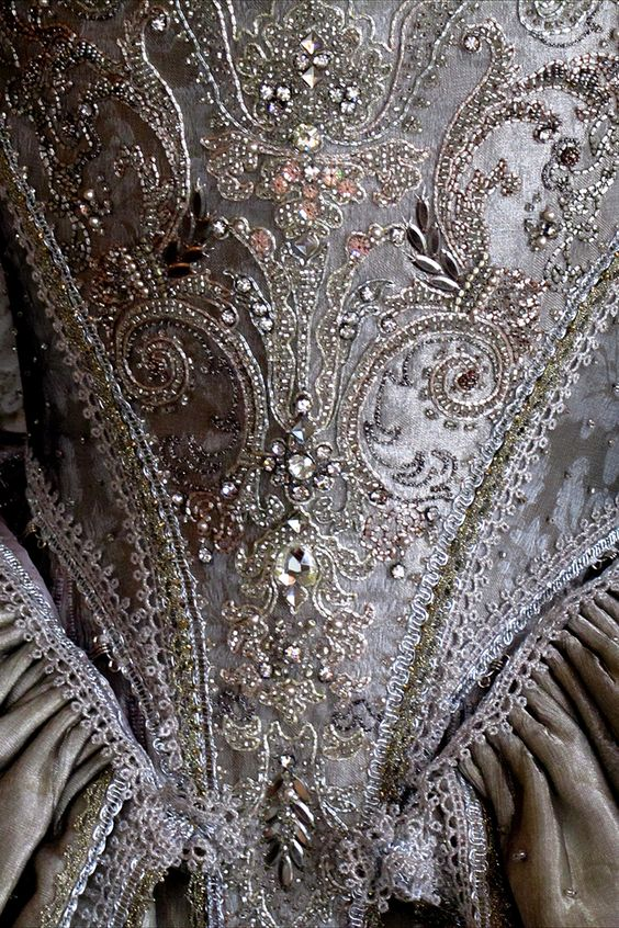 18th century dress by Olivier Henry
