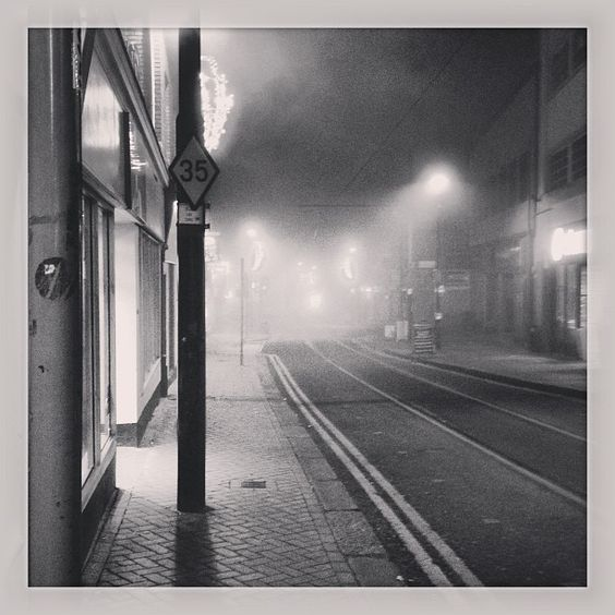 Misty Tram Lines - Croydon