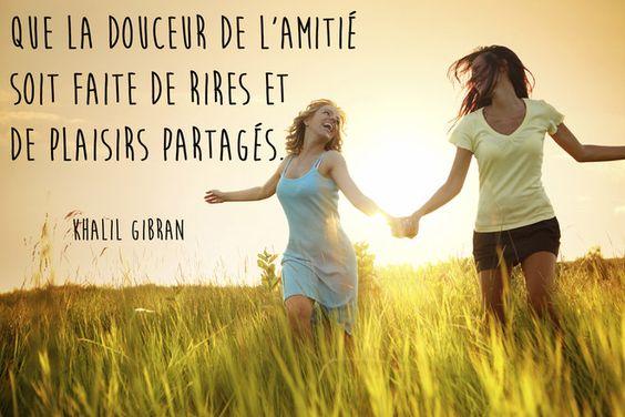 Citation meilleure amie de Khalil Gibran