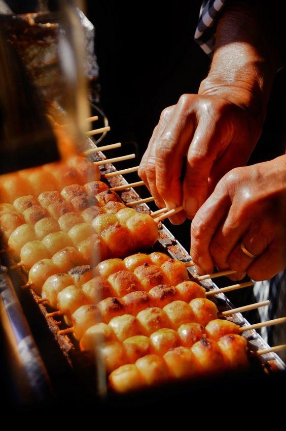 Japanese dumplings, Dango 団子