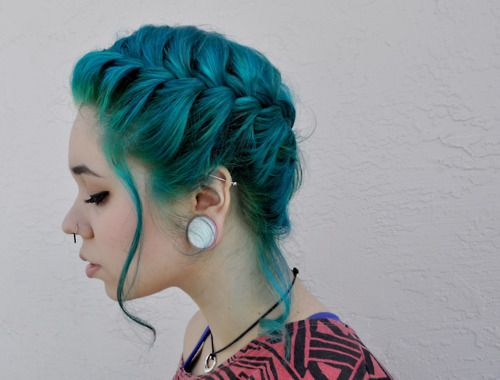 Color <3  I Can't wait for my hair to grow long again!