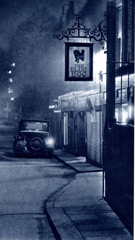 Dark City London In The 30s Dark City London Night London Street