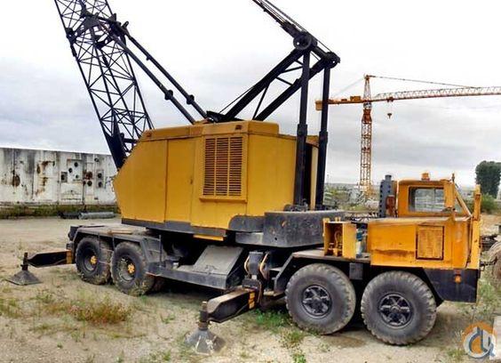 Used 1975 P H 650a Tc In Canada British Columbia Crane Construction Construction Equipment Heavy Equipment