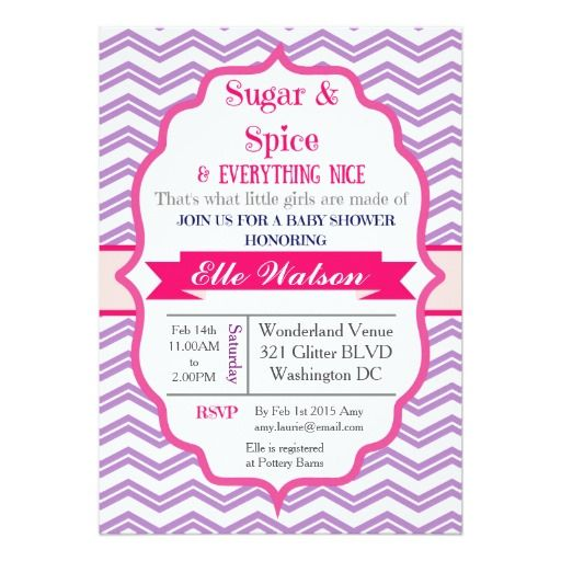 spice girls showers shower invitations girl baby showers baby shower