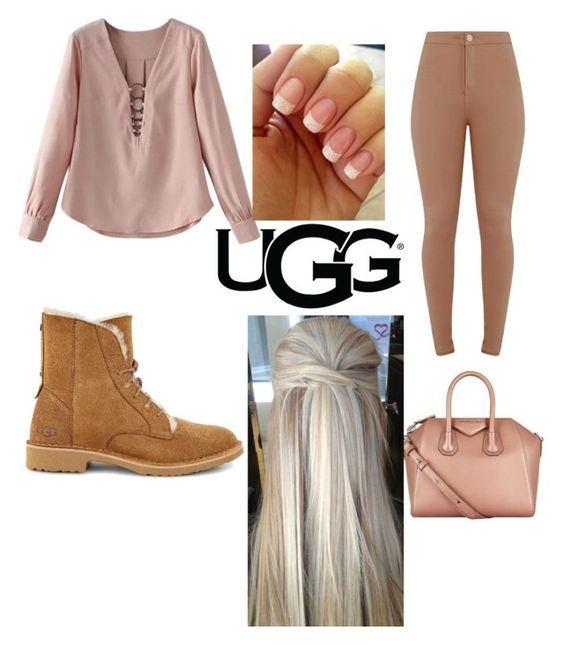 """""""uggs"""" by eggysalad ❤ liked on Polyvore featuring UGG, Givenchy and ugg"""