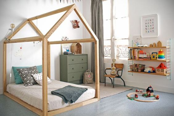 I love this! They can throw a sheet over it and make a tent indoors.