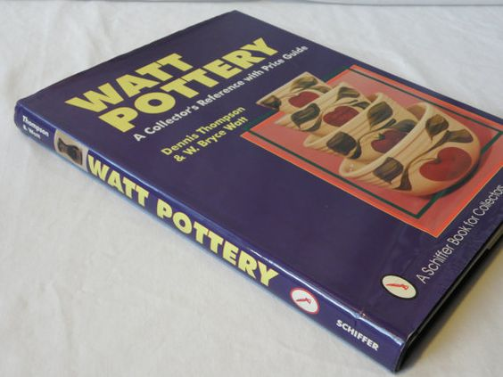 Vintage 1994 Watt Pottery A Collector's by AllredsAntiques on Etsy, $14.00
