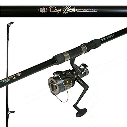 Hunter Carp Fishing Setup 12ft 2 Piece Carp Rod 2 75lb Baitrunner Reel Line Hunter Carp Fishing Setup 12ft 2 Piece Carp R Carp Rods Carp Fishing Carp