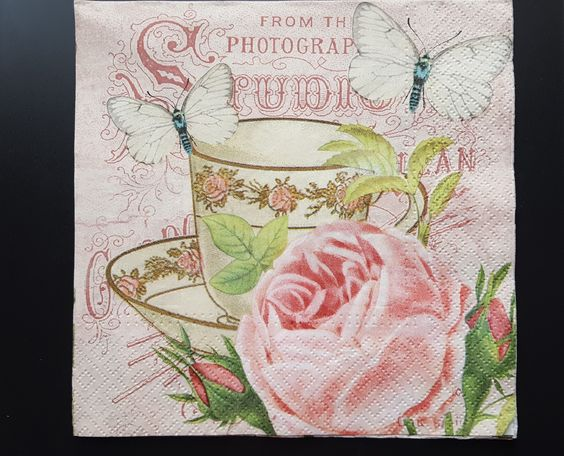 Now available on our store: Paper Napkin, Flo... Check it out here http://modelsandcraftshop.com/products/paper-napkin-flowers-shabby-chick-014?utm_campaign=social_autopilot&utm_source=pin&utm_medium=pin