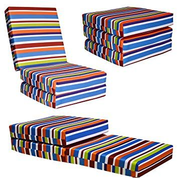 Kids Chair Bed Folding Chairbed Futon