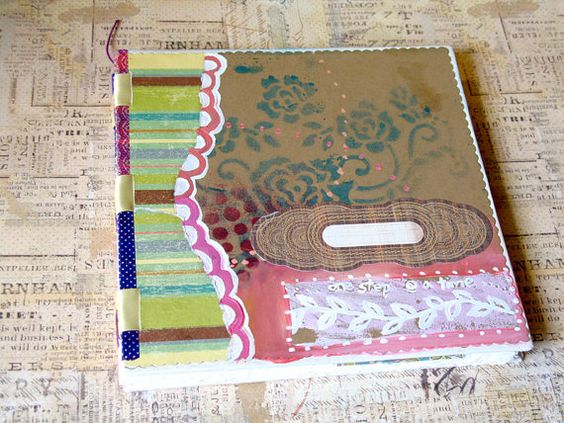 Art Journal - One Step at A Time on Etsy, $33.12