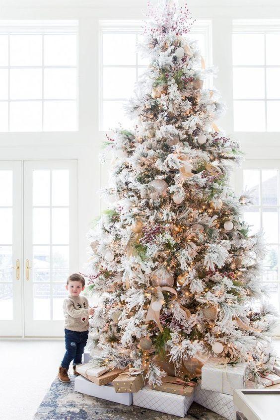 Pin Op Mooie Kerstbomen