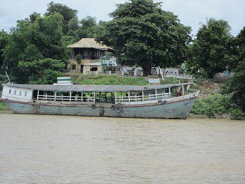 http://myanmar.mycityportal.net - Myanmar river life