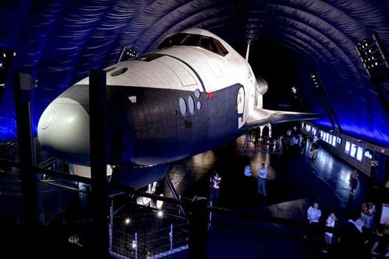 Space shuttle Enterprise at the Intrepid Sea, Air...