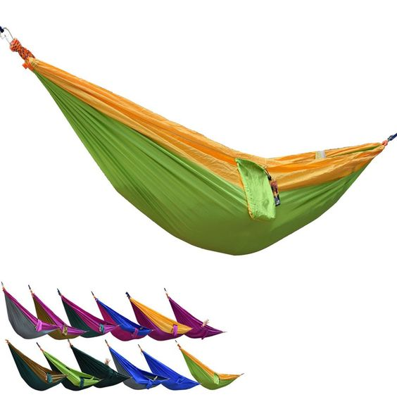 Portable Parachute Travel Hammock