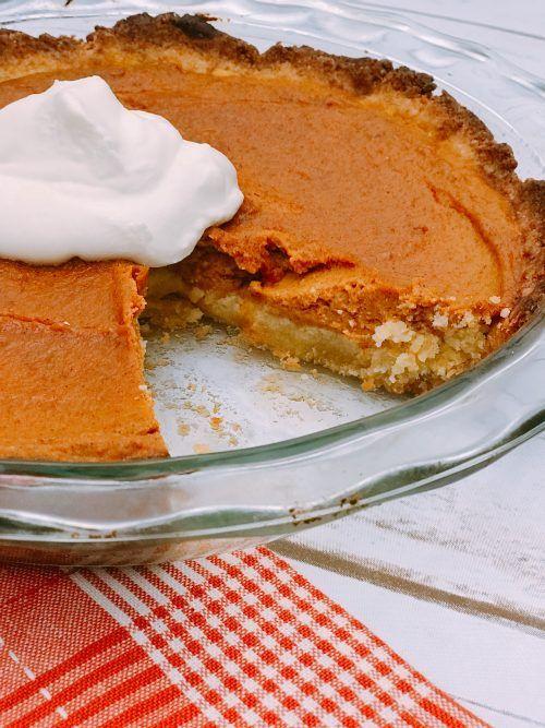 Keto Pumpkin Pie Easy Keto Desserts For Thanksgiving Recipe