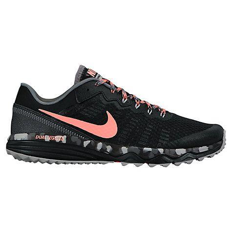 Buy Nike Dual Fusion Trail 2 Women's Running Shoe, Black/Pink Online at johnlewis.com