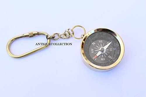 Brass Compass Keychain Keyring Antiquecollection Https Www Amazon Com Dp B07h9ts9wr Ref Cm Sw R Pi Dp U X Eby0bb5fzq8e2 Compass Keychain Keychain Keyrings