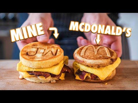 Making The Mcdonald S Mcgriddle At Home But Better Youtube In 2020 Mcdonalds Mcgriddle Homemade Mcgriddle Recipe Breakfast Wraps Recipes