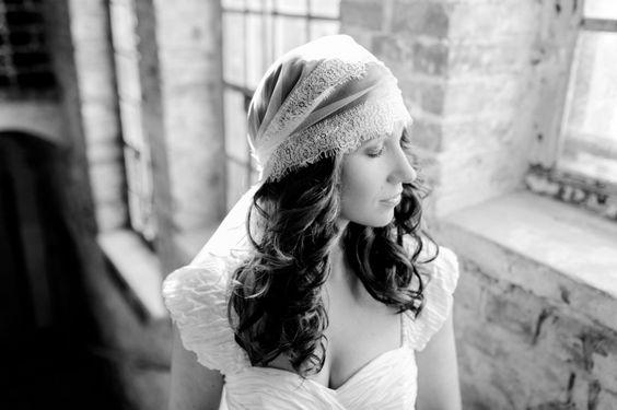 oh bohème! wedding styled shoot, headpiece/veil from La Chia
