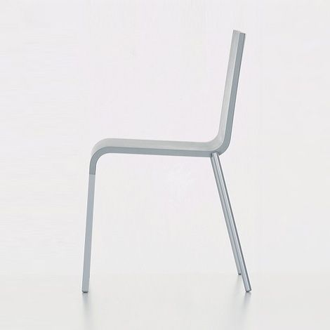 Van stackable chairs and chairs on pinterest for Chair 03 maarten van severen