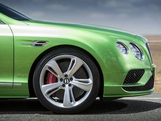 Bentley Continental GT 2015: Facelift für Coupé und Cabrio