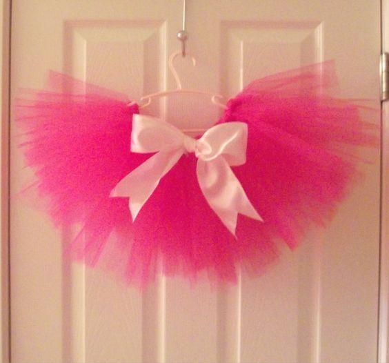 Love this hot pink full tutu