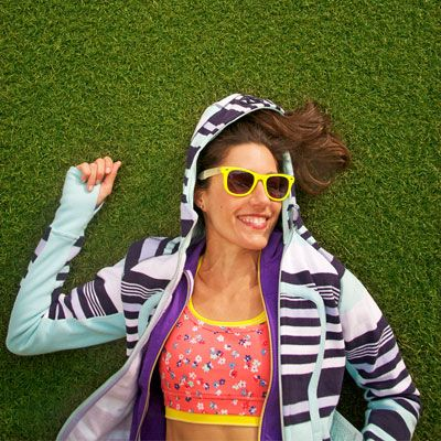 Colorful Fitness Fashion for Spring