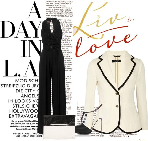 """Its not just that Black and White"" by salemap on Polyvore"