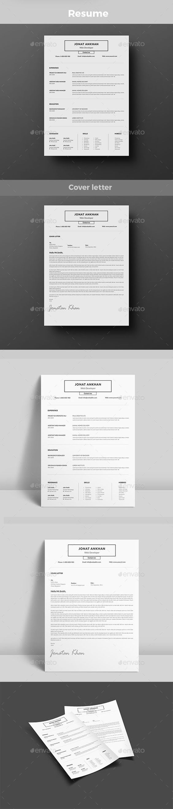 Resume Pinterest – Corporate Word Templates