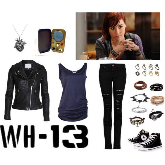 Agent Claudia Donovan-love her style
