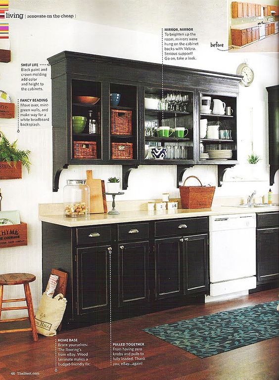 first kitchen diy makeover by layla at lettered cottage in