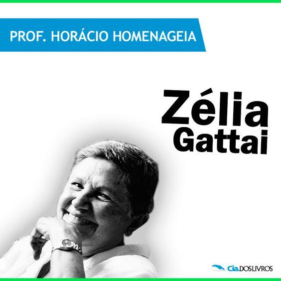 #ProfHoraciohomenageia Zélia Gattai Amado, ou simplesmente Zélia Gattai!   A paulistana foi escritora, fotógrafa, memorialista e uma expoente da militância política nacional durante quase toda a sua vida.   Confiram algumas das grandes obras da carreira de Zélia! http://s55.me/Qu3LVIU