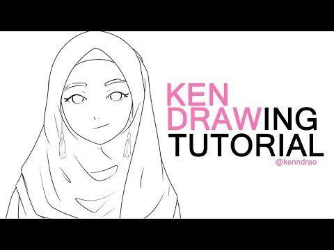 25 Sketsa Gambar Kartun Islam Tutorial Sketsa Muslimah Untuk Pemula Youtube 50 Gambar Kartun Lucu Imut Dan Menggemaskan Terb Di 2020 Kartun Lucu Cara Melukis Kartun
