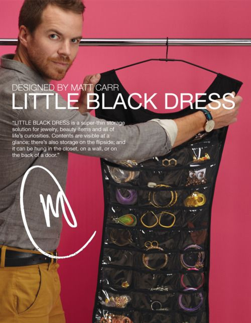 the Little Black Dress jewelry organizer. LOVE IT