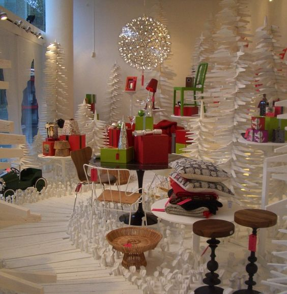 Christmas Decorations Retail Displays
