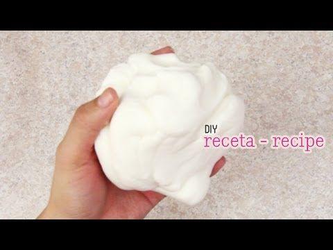 Como hacer Porcelana Fría casera (receta) // Cold porcelain recipe (+lis...