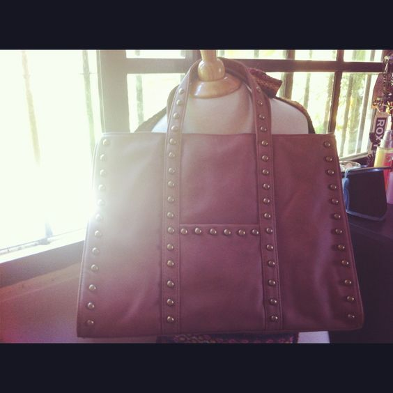 my new brown handbag