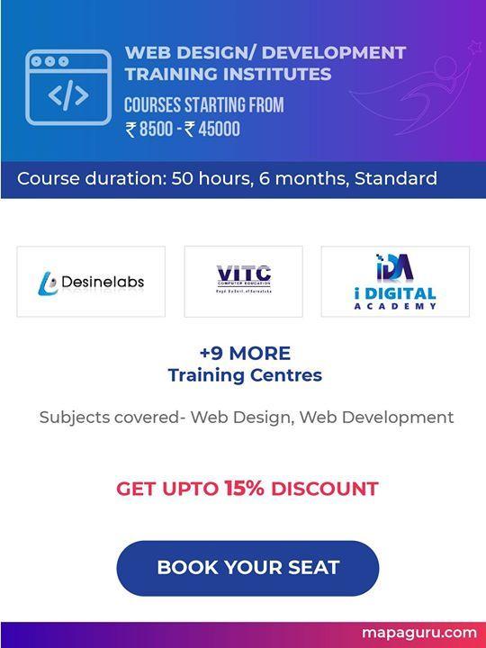 Web Design Development In Bengaluru Web Development Design Web Design Web Design Training
