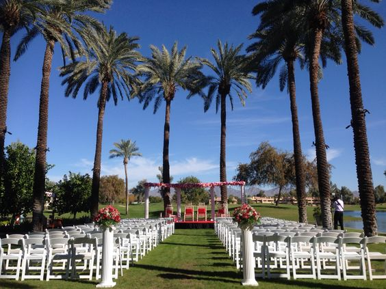 Wedding in Hyatt Regency Scottsdale at Gainey Ranch My Y knot