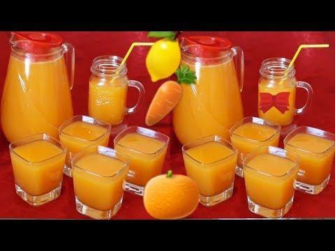 حضري كمية كثيرة من عصير صحي ومنعش عصير الجزر البرتقال الليمون الحامض Youtube Cake Desserts Desserts Food